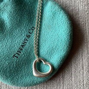 Tiffany & Co. Jewelry - TIFFANY & CO. Open Heart Pendant